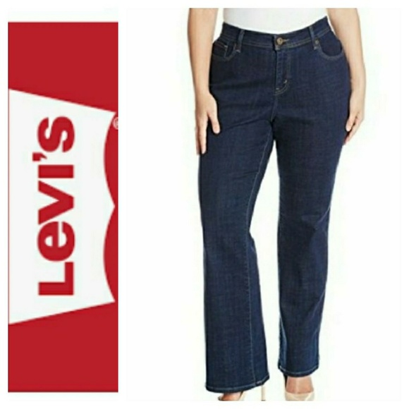 933bf3b3191 Levi s Denim - Levi s Plus size 580 Bootcut Jeans